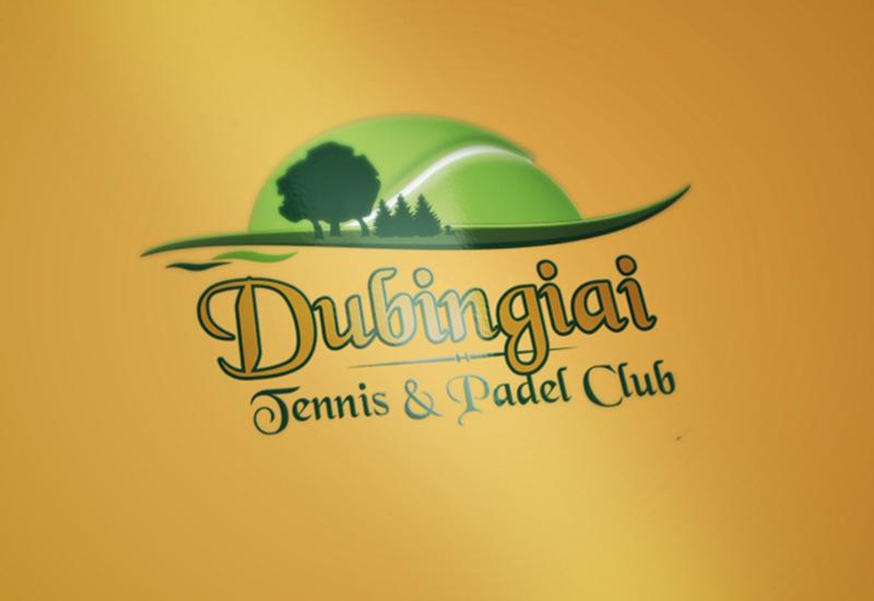 7natos logotipų kūrimas dubingiai tennis padel club