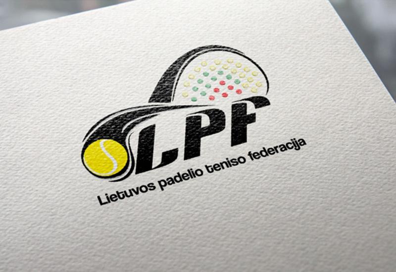 7natos logotipų kūrimas lptf lietuvos padelio teniso federacija