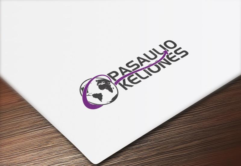 7natos logotipų kūrimas pasaulio kelionės