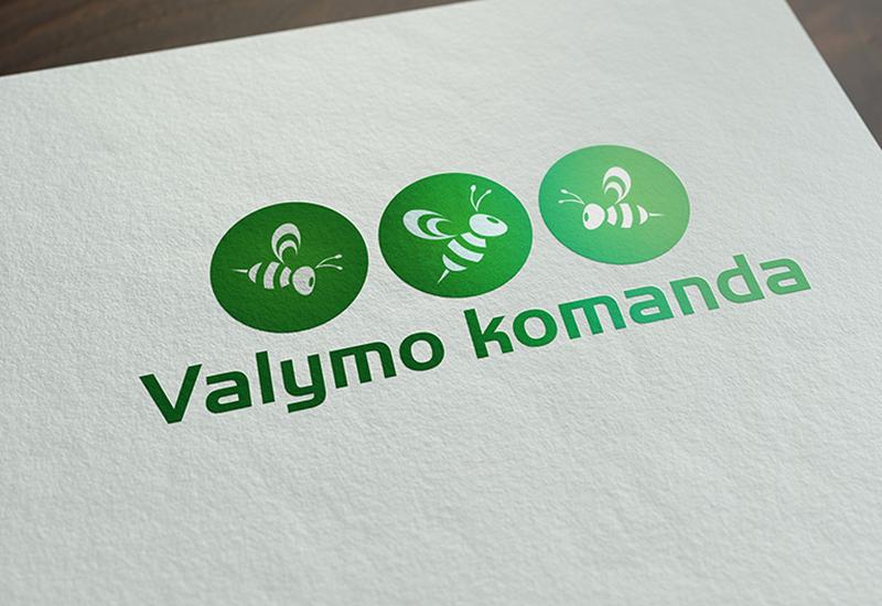 7natos logotipų kūrimas valymo komanda