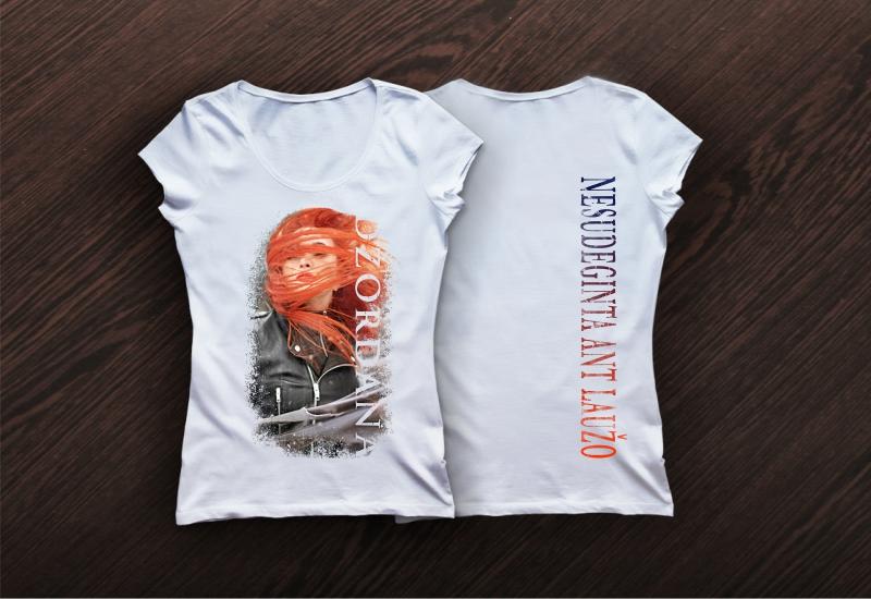 Marškinėlių dizainas Džordana Butkutė