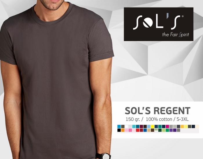 marškinėliai sols regent, marškinėliai su spaudu, marškinėliai su logotipu, medvilniniai marškinėliai, 7natos.lt, marskineliai.lt,