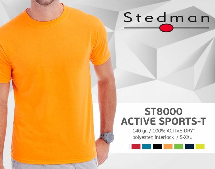 marškinėliai stedman-st8000, marškinėliai su spaudu, marškinėliai su logotipu, medvilniniai marškinėliai, 7natos.lt, marskineliai.lt,