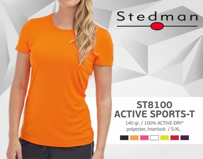 moteriški marškinėliai stedman-st8100, marškinėliai su spaudu, marškinėliai su logotipu, medvilniniai marškinėliai, 7natos.lt, marskineliai.lt,