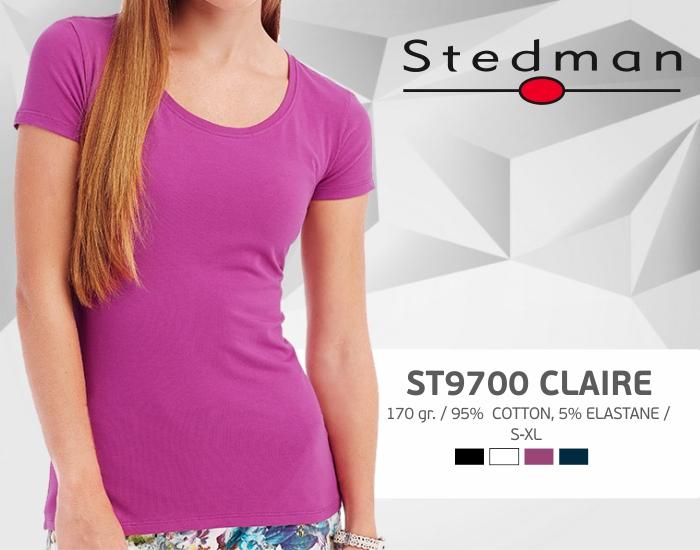 moteriški marškinėliai stedman-st9700, marškinėliai su spaudu, marškinėliai su logotipu, medvilniniai marškinėliai, 7natos.lt, marskineliai.lt,