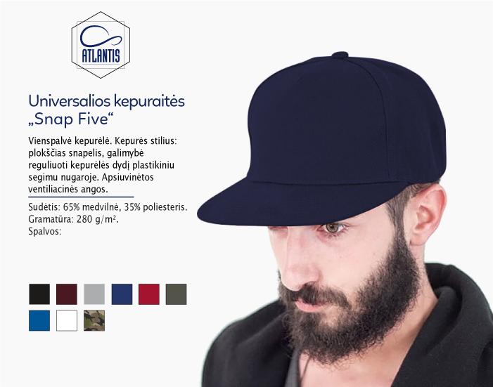 universali kepuraitė, kepurė su snapeliu, kepurė su spauda, kepurė